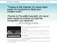 How to Copyright Songs, copyright photos, copyright books and copyright software. Get protection, copyright @ www.provemycopyright.com - Welcome