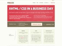 PSD to CSS / HTML conversion | convert PSD2HTML | PSD2CSS.com