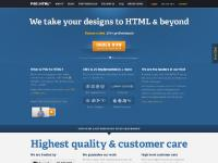 Convert PSD to HTML / XHTML and CSS - P2H / PSD2HTML®
