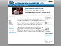 Drag Springs (OCA), Quantum Racing Industries, CV Products, Joomla Template by Joomlashack