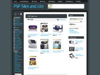 PSP Slim and Lite - Unofficial Sony PlayStation Portable Slimline Lite website. PSP Slimline, PSP Slim7Lite, accessories, games! PSP-3000 info