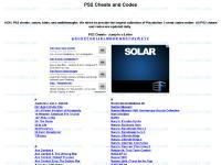 PS2 cheats | Playstation 2 cheats | PS2 Cheat Codes