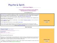 Psyche and Spirit: pastoral support publication, clergy self-care, the psychology of ministry
