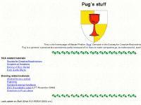 Pug's stuff