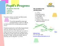 Private Tutors in Manchester: Pupil's Progress