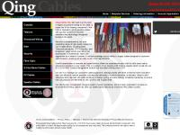 Qing Cables Ltd. | Coaxials | Telecom | Structured Wiring | CCTV/Security | Fibre