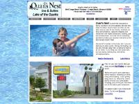 Quail's Nest Home Page. Quail's Nest Inn & Suites is located at Lake of the