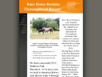 racehorsereclaim.com Adopt, Services, Horses