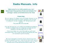 Free service manuals