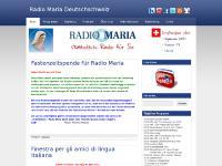 radiomaria.ch öises katholische Radio, s'katholischi Radio für Sie, katholisches Radio