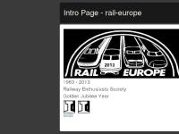 Intro Page - rail-europe