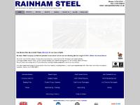 rainhamsteel.co.uk universal beams, universal columns, bearing piles