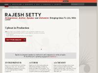 Rajesh Setty | Entrepreneur, Author, Speaker & Alchemist | Bringing Ideas to