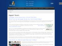 Egypt tours, Egypt day tours, Egypt tour packages & Egypt shore excursions