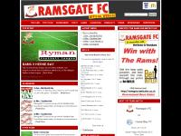 ramsgate-fc.co.uk Ramsgate Football Club FC Rams Thanet Ryman League Margate Broadstairs