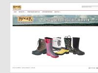 rangerboots.com Products, Find Ranger Near You, Customer Reviews