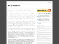 Raptiva Psoriasis — Raptiva For Psoriasis and What It means to you