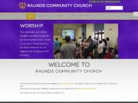 Welcome to Raunds Community Church
