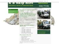 Skip Hire – Crawley | R B Skip Hire