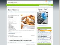 Recipe, Food and Health Information - From one food lover to another - Reader's Food