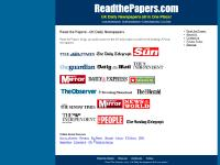 readthepapers.com Local Newspapers, World Newspapers, NewsNow
