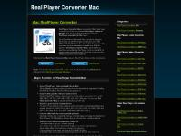 Real Player Converter Mac - convert RealPlayer videos on Mac OS
