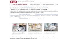 Re-Bath Bathroom Remodeling | Replacement Bathtubs, Walk-in Bathtubs