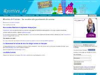 Valérie, Recettes, Mes blogs préférés, Classement des blogs