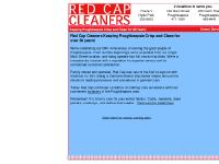 Red Cap Cleaners - Keeping Poughkeepsie Crisp and Clean for 60 Years!
