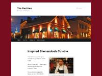 the red hen restaurant main page