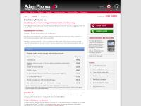 Contract solutions, Overview, Satelite phones, BlackBerry