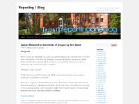 Reporting 1 Blog | From the hot computers and sharp minds of budding journos at the U of Oregon