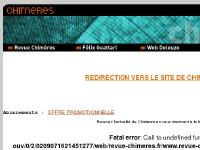 Chimères, revue fondée par Gilles Deleuze et Felix Guattari