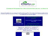 RF Amplifiers . Com - RF/Microwave amplifiers,RF amplifiers,and Microwave,Cellular,wireless,amplifiers,- HD Communications Corp (888)588-3800)