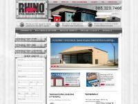 Rhino Steel Buildings, Metal Building, Prefabricated, Preengineered, Prefab, Churches, Warehouses, Garages, Pole Barns, Commercial, Barns, Horse Arena, Riding Arena, Aircraft Hangars, Storage, Recrational