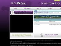 Rich Dad Education | Learn To Be Rich Workshop