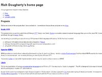 Rich Dougherty's home page