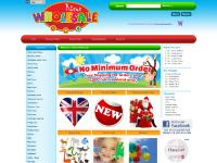 risuswholesale.co.uk party bags, toys, loot