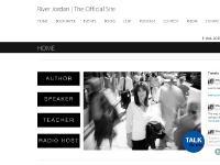 River Jordan | The Official Site | River Jordan | Author, Speaker, & Radio Host