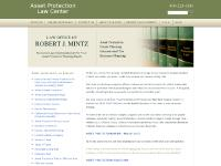 Asset Protection Law Center: Asset Protection Attorney | Rjmintz.com