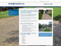 Groundworks Contractors - Petersfield | R M Bleach & Co