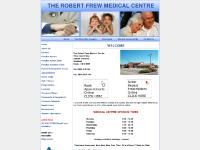 robertfrewsurgery.com The Robert Frew Medical Centre, GP, health
