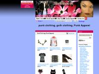 Rockrags, Goth Clothing, Punk Clothing, Web Links
