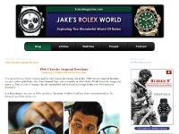 Welcome To RolexMagazine.com...Home Of Jake's Rolex World Magazine..Optimized for