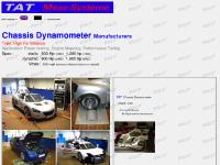 Chassis Dyno Chassis Dynamometer Rolling Road