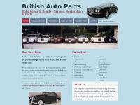 Rolls Royce Parts | Bentley Auto Spares | Auto Service Florida | British Car Parts