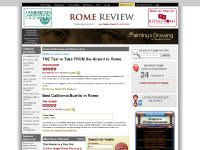 Rome Review - The Premier Resource for English Speakers in Rome.
