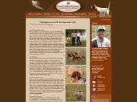 Ronnie Smith Kennels :: Bird Dog Training, Training Seminars, and Equipment :: Big Cabin, OK