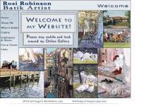 Batik Art by Sussex UK Batik Artist Rosi Robinson