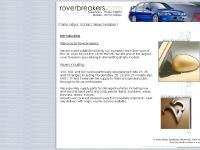 roverbreakers.com rover breaking, rover spares, second hand parts
